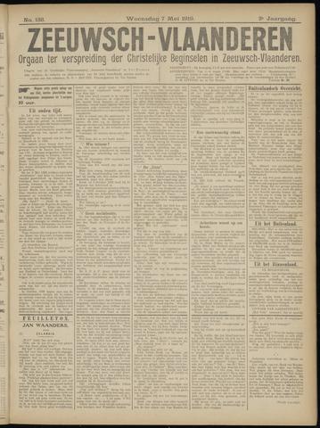 Luctor et Emergo. Antirevolutionair nieuws- en advertentieblad voor Zeeland / Zeeuwsch-Vlaanderen. Orgaan ter verspreiding van de christelijke beginselen in Zeeuwsch-Vlaanderen 1919-05-07