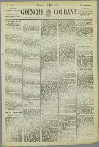 Goessche Courant 1919-07-15
