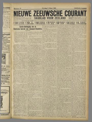 Nieuwe Zeeuwsche Courant 1922-03-21