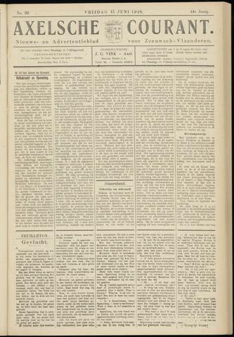 Axelsche Courant 1928-06-15