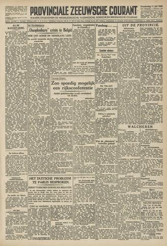 Provinciale Zeeuwse Courant 1946-07-11