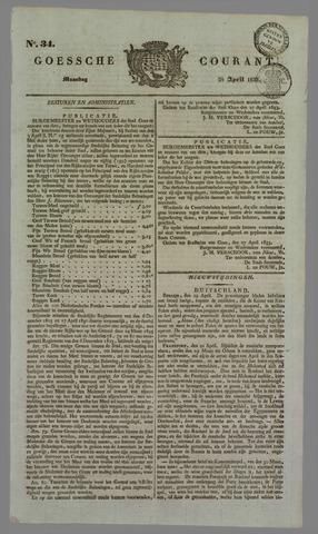 Goessche Courant 1833-04-29