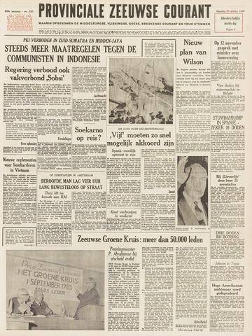 Provinciale Zeeuwse Courant 1965-10-25