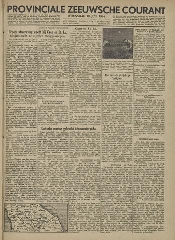 Provinciale Zeeuwse Courant 1944-07-19