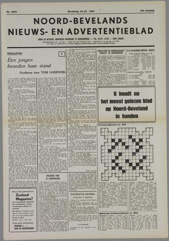 Noord-Bevelands Nieuws- en advertentieblad 1980-07-24