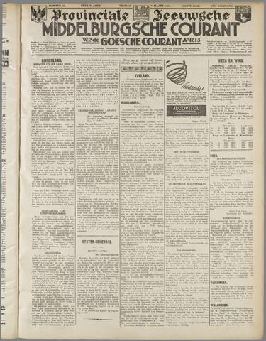 Middelburgsche Courant 1934-03-09