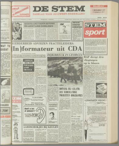 de Stem 1977-11-07