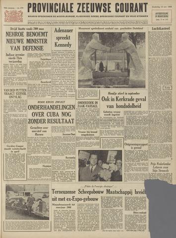 Provinciale Zeeuwse Courant 1962-11-15