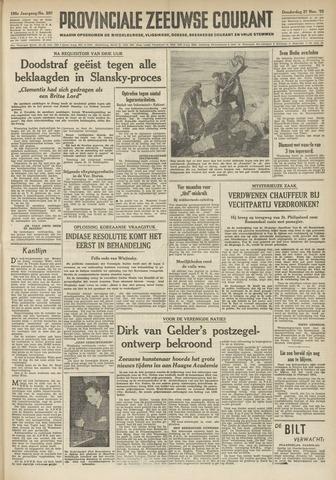Provinciale Zeeuwse Courant 1952-11-27