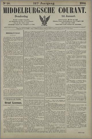 Middelburgsche Courant 1884-01-24