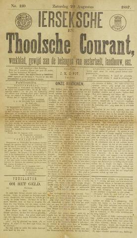 Ierseksche en Thoolsche Courant 1887-08-20