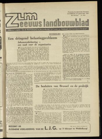 Zeeuwsch landbouwblad ... ZLM land- en tuinbouwblad 1962-01-26