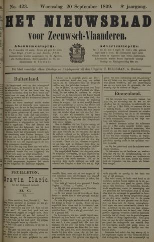 Nieuwsblad voor Zeeuwsch-Vlaanderen 1899-09-20