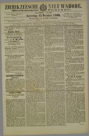 Zierikzeesche Nieuwsbode 1900-10-13