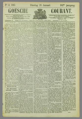 Goessche Courant 1915-01-26