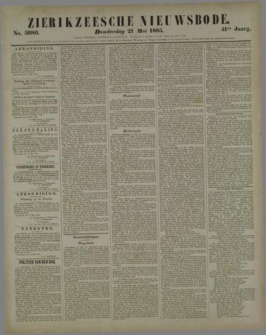 Zierikzeesche Nieuwsbode 1885-05-21