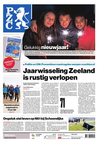 Provinciale Zeeuwse Courant 2018-01-02
