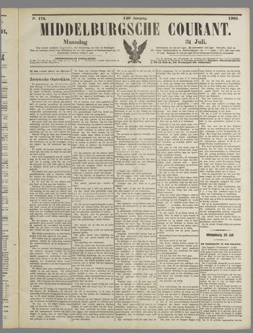 Middelburgsche Courant 1905-07-31