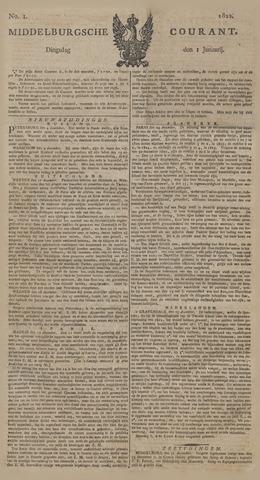 Middelburgsche Courant 1822