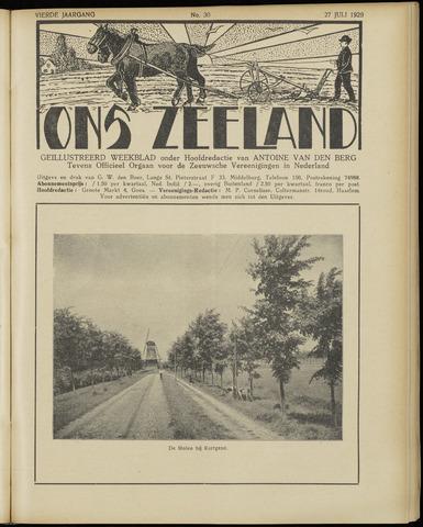 Ons Zeeland / Zeeuwsche editie 1929-07-27