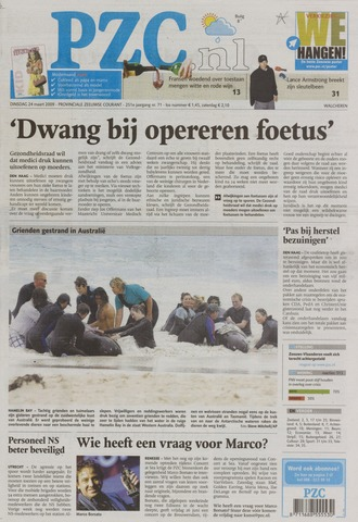 Provinciale Zeeuwse Courant 2009-03-24