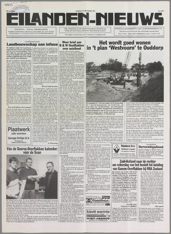 Eilanden-nieuws. Christelijk streekblad op gereformeerde grondslag 1995-10-27