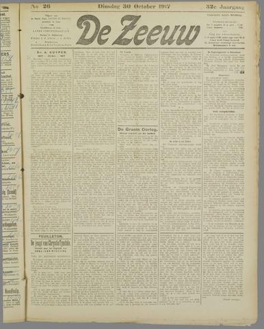 De Zeeuw. Christelijk-historisch nieuwsblad voor Zeeland 1917-10-30