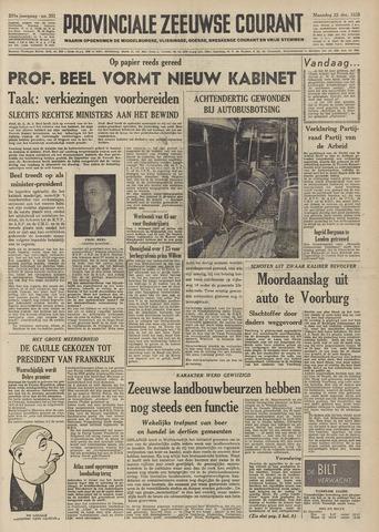 Provinciale Zeeuwse Courant 1958-12-22