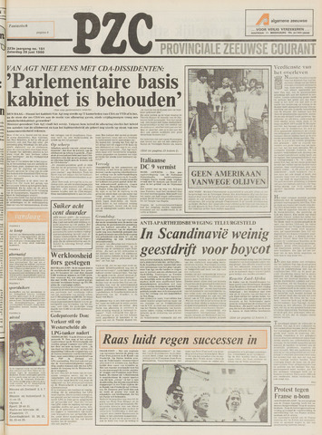 Provinciale Zeeuwse Courant 1980-06-28