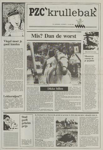 Provinciale Zeeuwse Courant katern Krullenbak (1981-1999) 1993-07-06