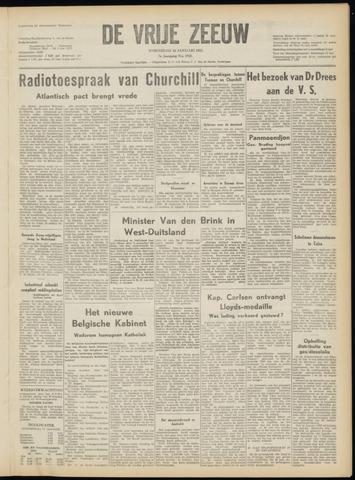 de Vrije Zeeuw 1952-01-16