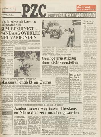 Provinciale Zeeuwse Courant 1974-09-03