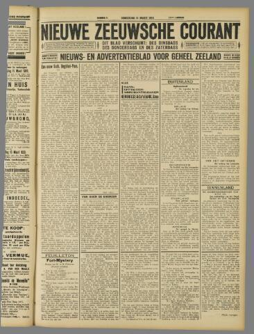 Nieuwe Zeeuwsche Courant 1929-03-14