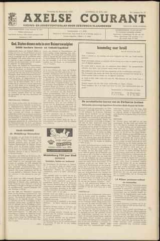Axelsche Courant 1967-06-10