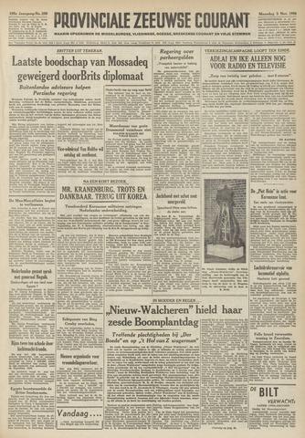 Provinciale Zeeuwse Courant 1952-11-03