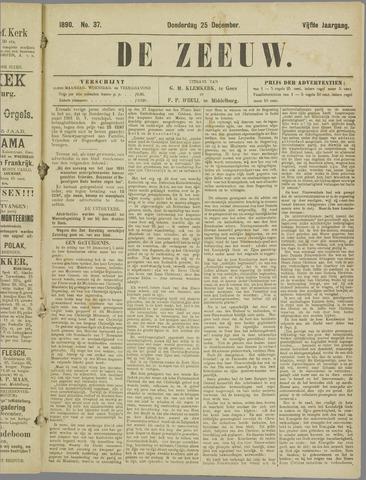 De Zeeuw. Christelijk-historisch nieuwsblad voor Zeeland 1890-12-25
