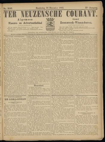 Ter Neuzensche Courant. Algemeen Nieuws- en Advertentieblad voor Zeeuwsch-Vlaanderen / Neuzensche Courant ... (idem) / (Algemeen) nieuws en advertentieblad voor Zeeuwsch-Vlaanderen 1897-12-16