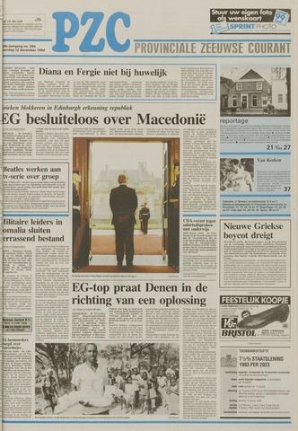 Provinciale Zeeuwse Courant 1992-12-12