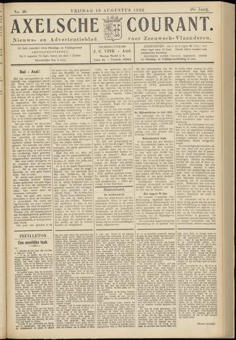 Axelsche Courant 1932-08-19
