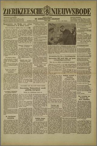 Zierikzeesche Nieuwsbode 1952-06-09