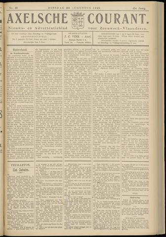 Axelsche Courant 1929-08-20
