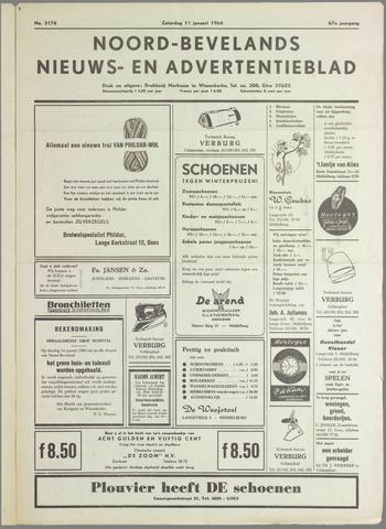 Noord-Bevelands Nieuws- en advertentieblad 1964-01-11