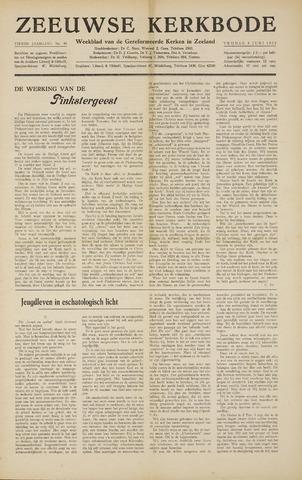 Zeeuwsche kerkbode, weekblad gewijd aan de belangen der gereformeerde kerken/ Zeeuwsch kerkblad 1955-06-03