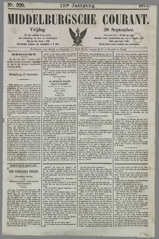 Middelburgsche Courant 1877-09-28