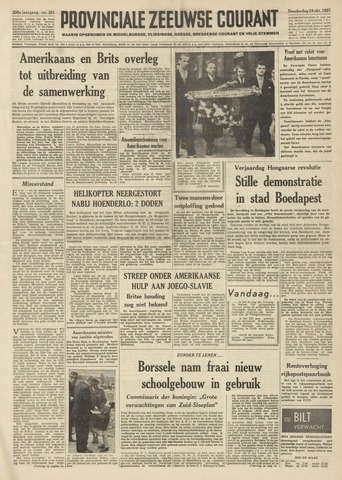 Provinciale Zeeuwse Courant 1957-10-24