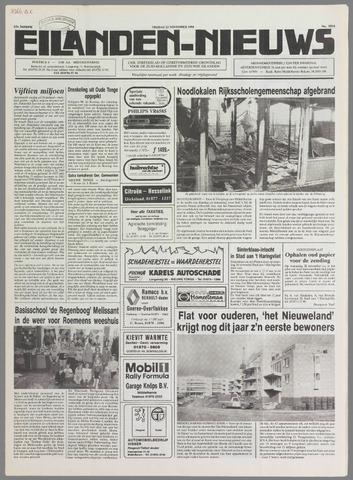 Eilanden-nieuws. Christelijk streekblad op gereformeerde grondslag 1990-11-23