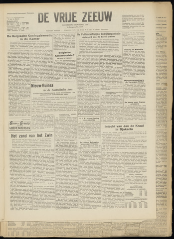 de Vrije Zeeuw 1950-01-12