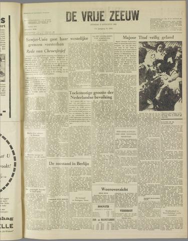 de Vrije Zeeuw 1961-08-08