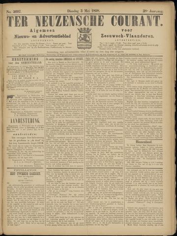 Ter Neuzensche Courant. Algemeen Nieuws- en Advertentieblad voor Zeeuwsch-Vlaanderen / Neuzensche Courant ... (idem) / (Algemeen) nieuws en advertentieblad voor Zeeuwsch-Vlaanderen 1898-05-03