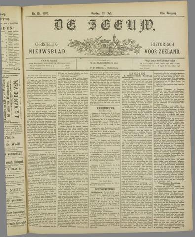 De Zeeuw. Christelijk-historisch nieuwsblad voor Zeeland 1897-07-13